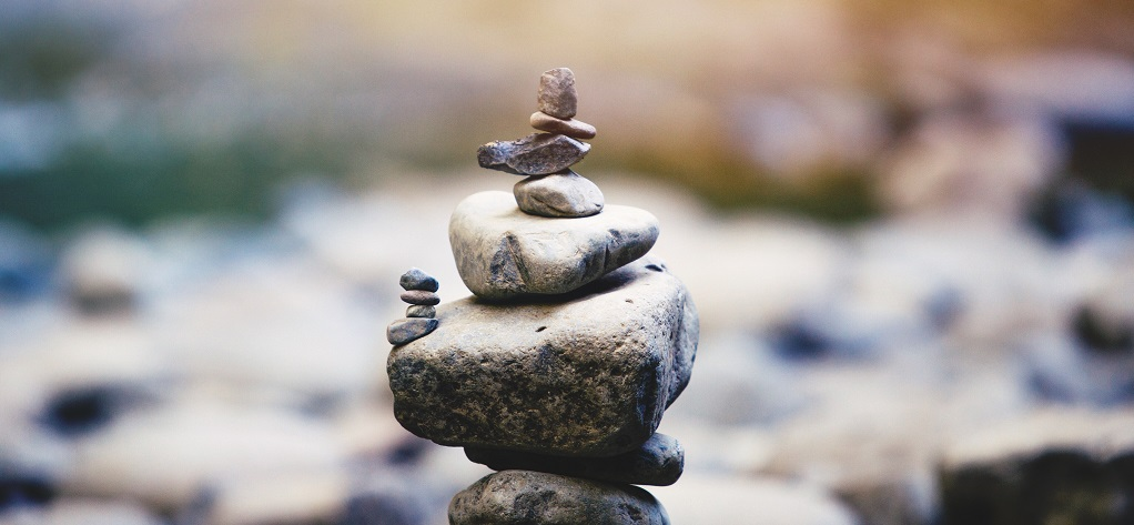Practise mindfulness to achieve balance